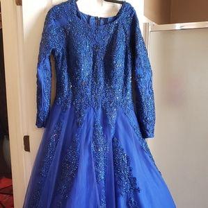 Royal blue Jovani dress